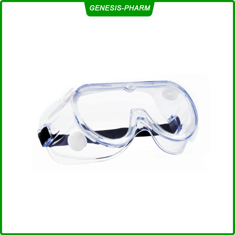Fully enclosed medical isolation goggles Impact and Scratch Resistant Crystal Clear Lens-Protective Eyewear for Lab, Industrial, Carpentry, Shooting, Sports, and More
