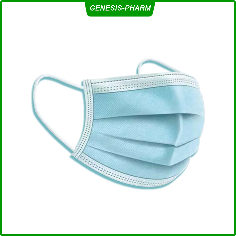 Disposable Face Mask - Anti-Dust Filter, Breathable, 3 Layers of Purifying